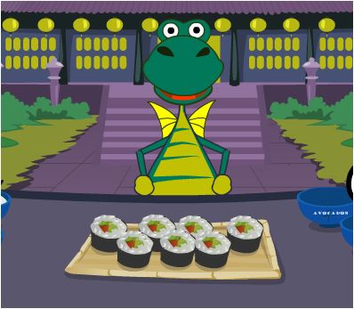 Flying Dragon Sushi Game