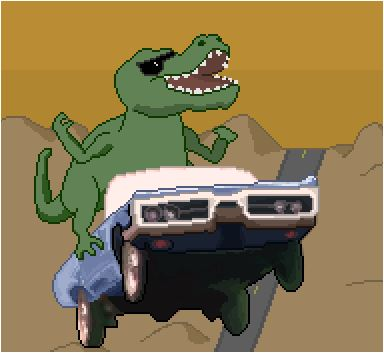 Dino Road Game