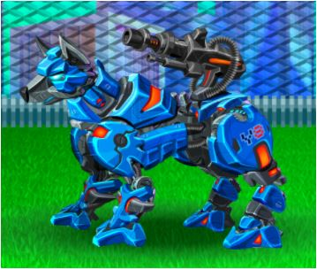 Cyber Dog Assembly Game