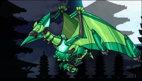Pteranodon Green Plus Dino Robot Game