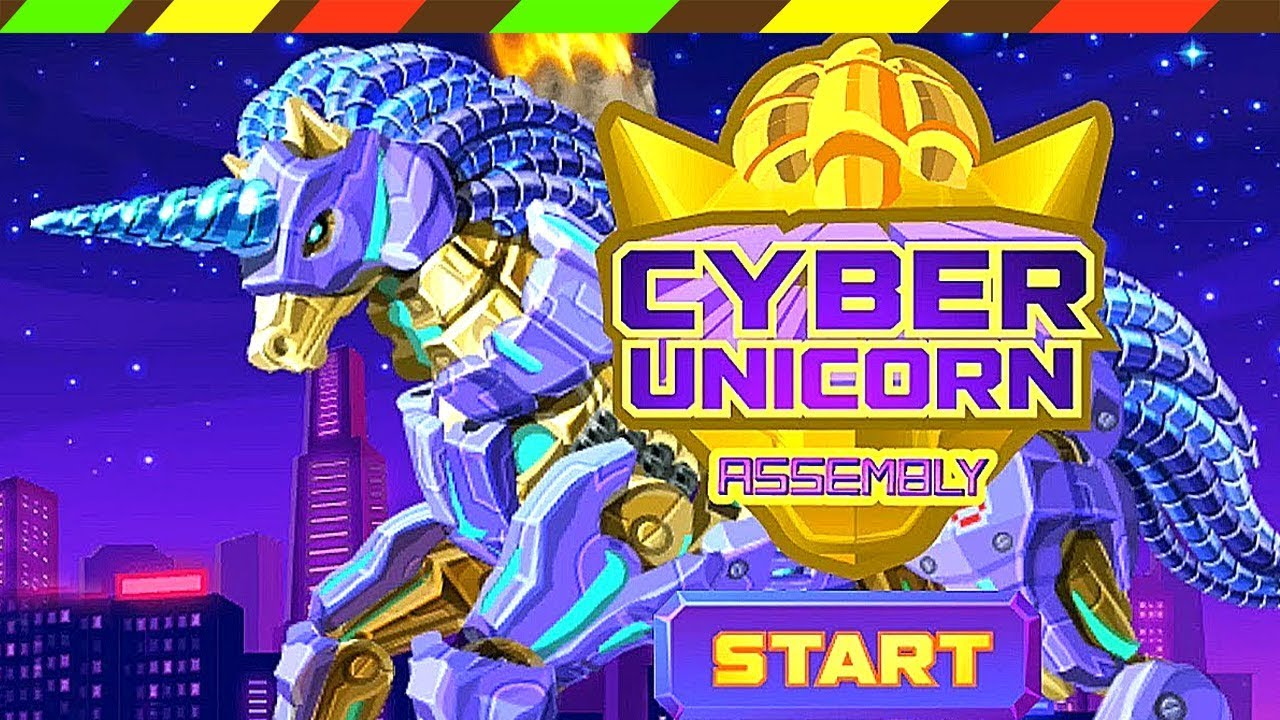 Cyber Unicorn Assembly Robot Game