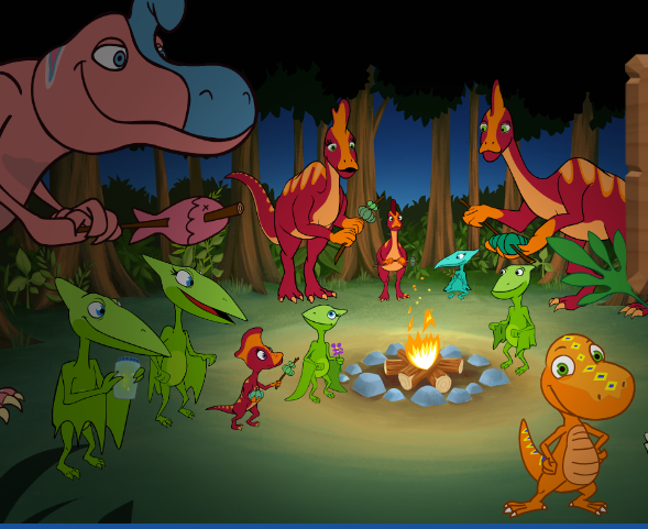 Buddy Big Campout Adventure Game