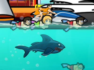 Angry Shark Online Game