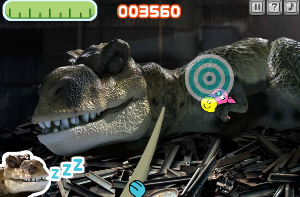 Dino Donkey Dash Game