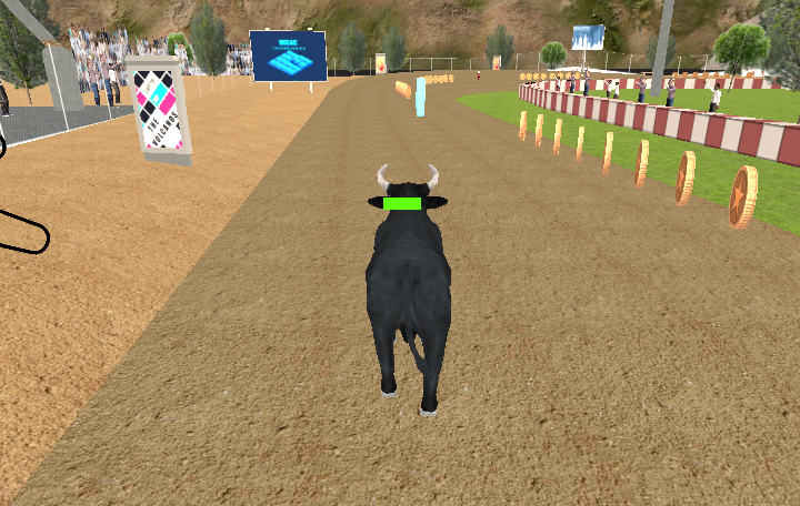 Angry Bull Racing Game
