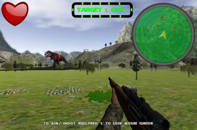 Dinosaur Hunter Survival Game