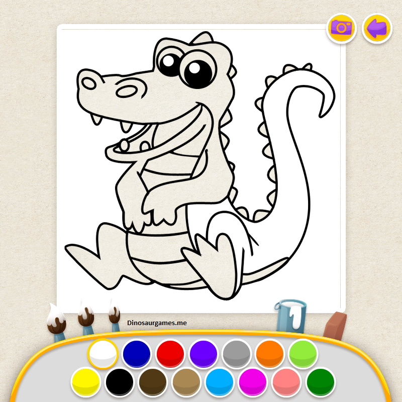 Kids Coloring Book Page