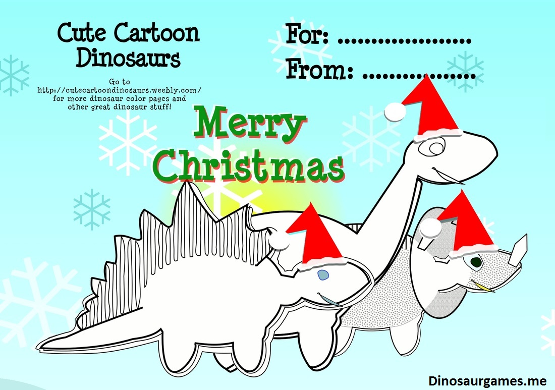 christmas dinosaur 4 coloring page dinosaur coloring pages. Black Bedroom Furniture Sets. Home Design Ideas