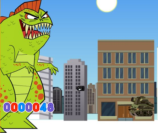Dinosaur Invasion Game