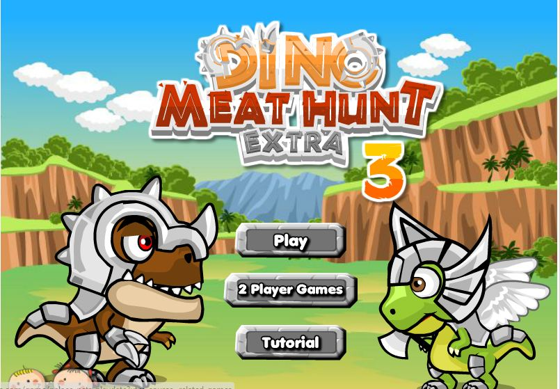 Dino Meat Hunt Extra 3 Game