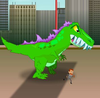 Massacre Dinosaur Game