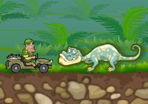 Jeep in The Jungle Game