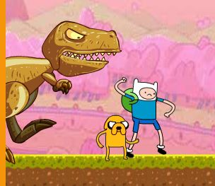 Adventure Time Amazing Race Game