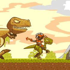 Crazy Raptor Rider Game