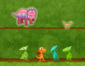 Dinosaur Train Pinecone Pass Game