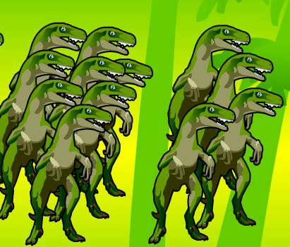 Dinosaur Roundup  Game
