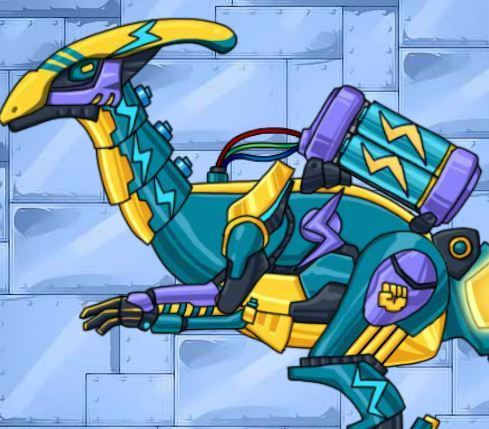 Dino Robot Lightning Parasau Game