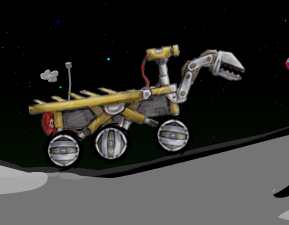 Alien Rover Game