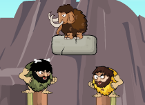 Rolly Stone Age Mammoth Rescue Game