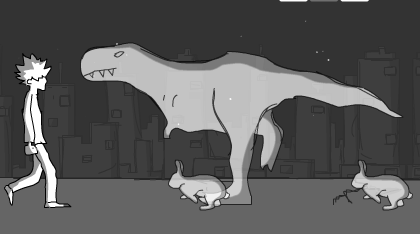 Dinosaur Urban Brawl Game