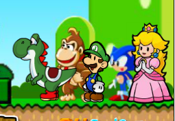 Mario Friends Rescue Game