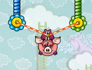 Piggy Wiggy 3 Nuts Game