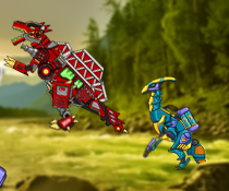 Dino Robot Finder Game