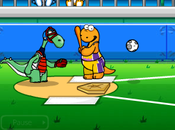 Dino Kids Baseball Game