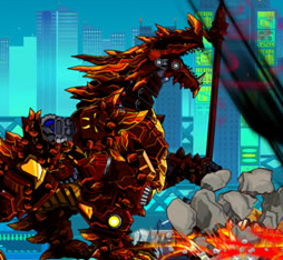 Robot Berial Dragon Game