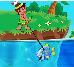 Piranha Hunter Game