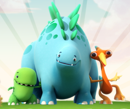 Dinopaws Hiders and Finders Game