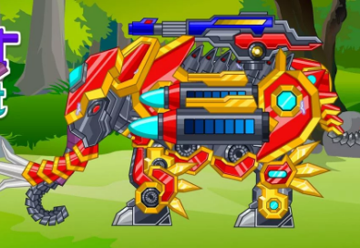 Zoo Robot Elephant Game