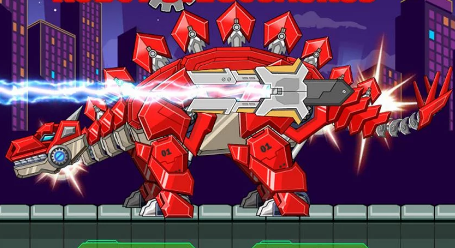 Toy War Robot Stegosaurus Game