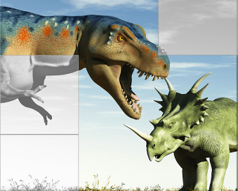 Dinosaurs Puzzles Game