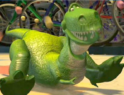 Rex Toy Story Puzzle Game