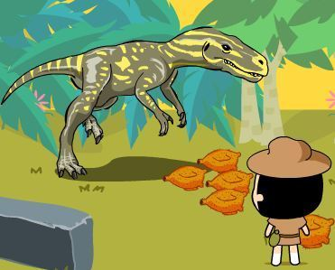 Care For Dinosaurs Game