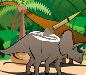 Dino Park Coloring Game