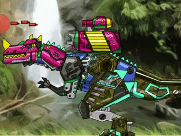 Dino Robot Repair Ceratosaurus Game