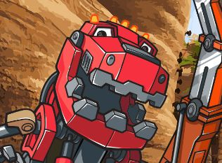 Dinotrux Create and Paint Game