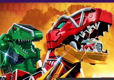 What's Your Dino Zord Game