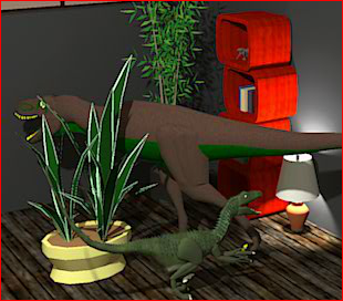Jurassic Room Escape Game