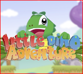 Little Dino Adventure Game