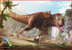 Land Of Dinosaur Painting Game