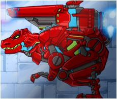 Assembly of Mechanical Dinosaurs Game