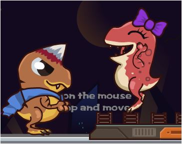 Dinosaur Save Princess Game