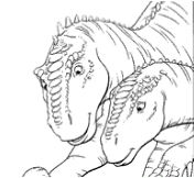 Pictures Dinosaur 2 Coloring Page