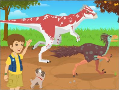 Dino Dan Realy Set Dino Game