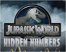 Jurassic World Hidden Numbers Game