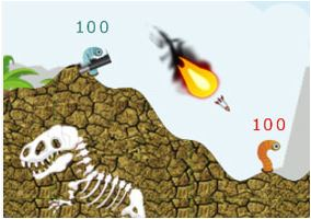 Worms Dinosaur Era Game