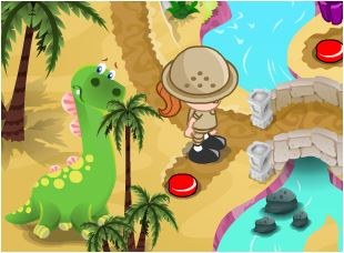 Jurassic Kids Zoo Game